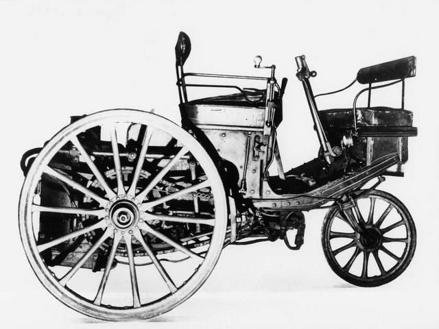 El automóvil – 1889, año de presentación del triciclo de vapor