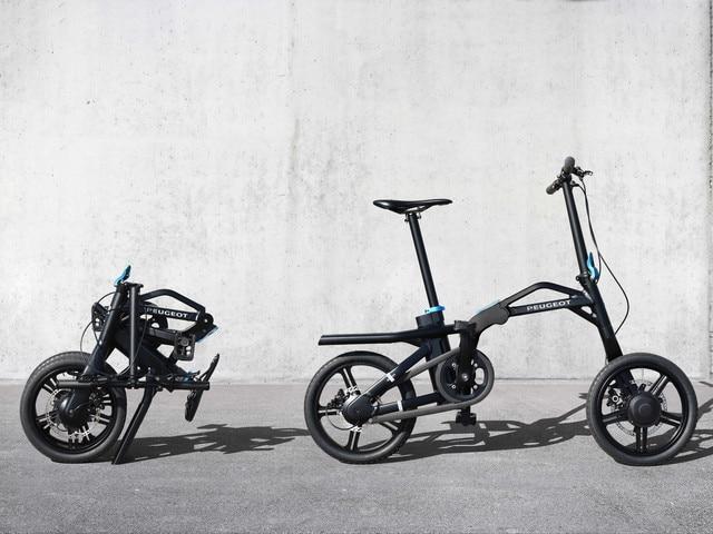 Bicicletas y motos – la bicicleta plegable con asistencia eléctrica eF01