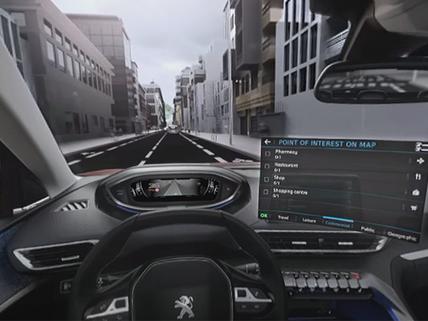 3008 Navegación 3D conectada VR