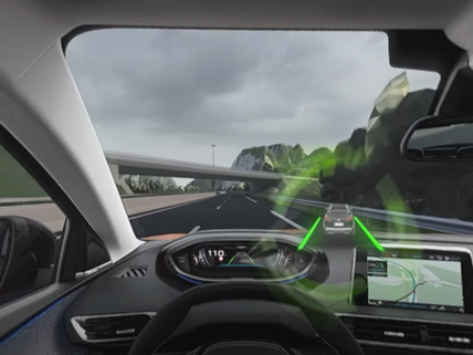 3008 Active Lane Control VR