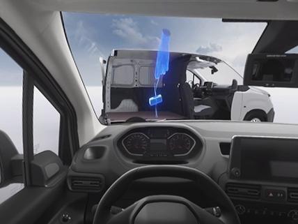 Partner Asientos Multiflex y alerta de sobrecarga VR